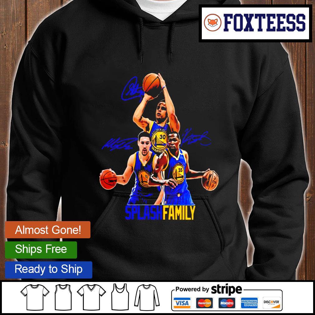 Basketball splash family T-s hoodie