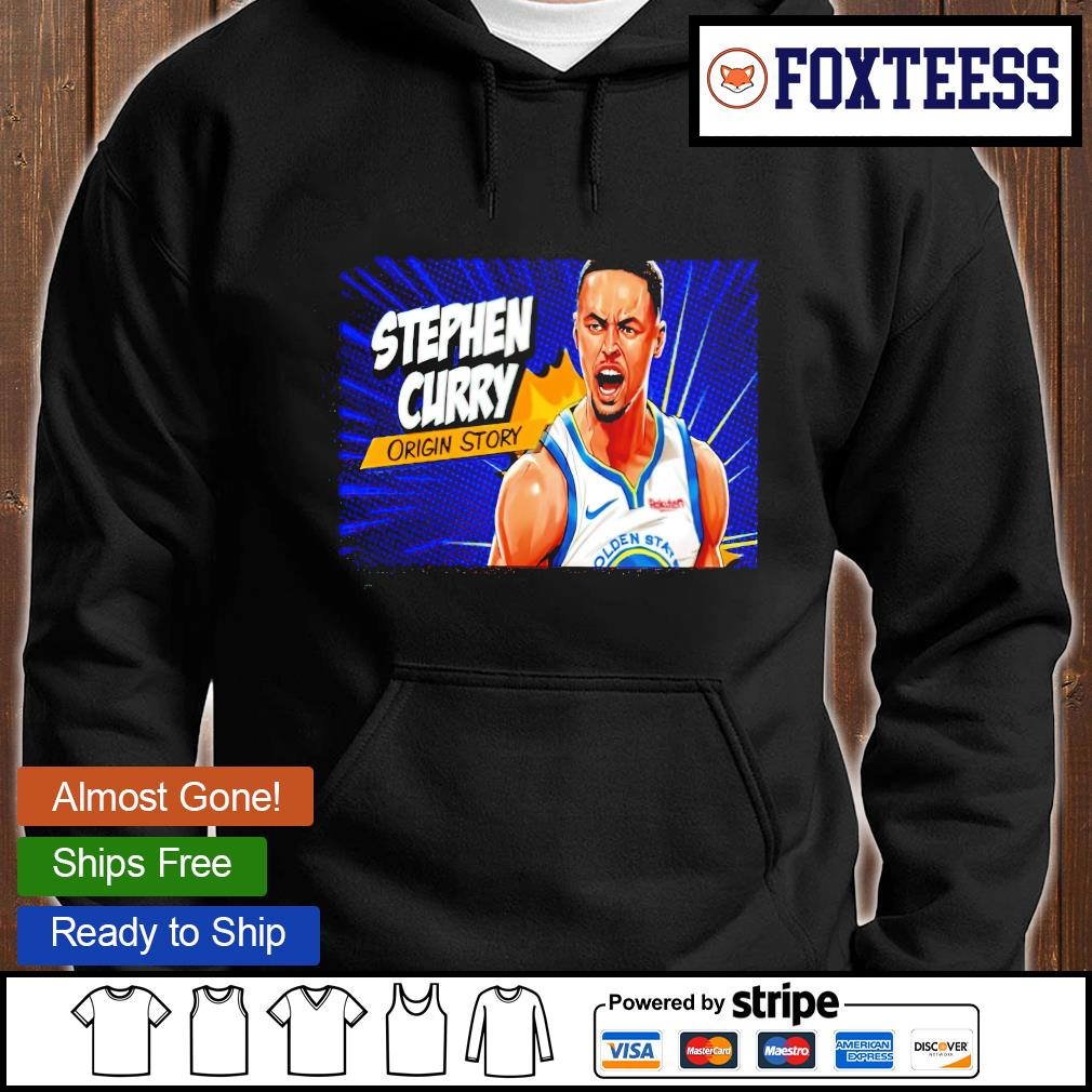 Basketball stephen curry origin story T-s hoodie
