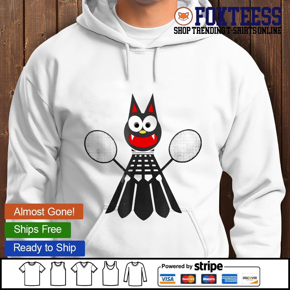 Bat Badminton hoodie