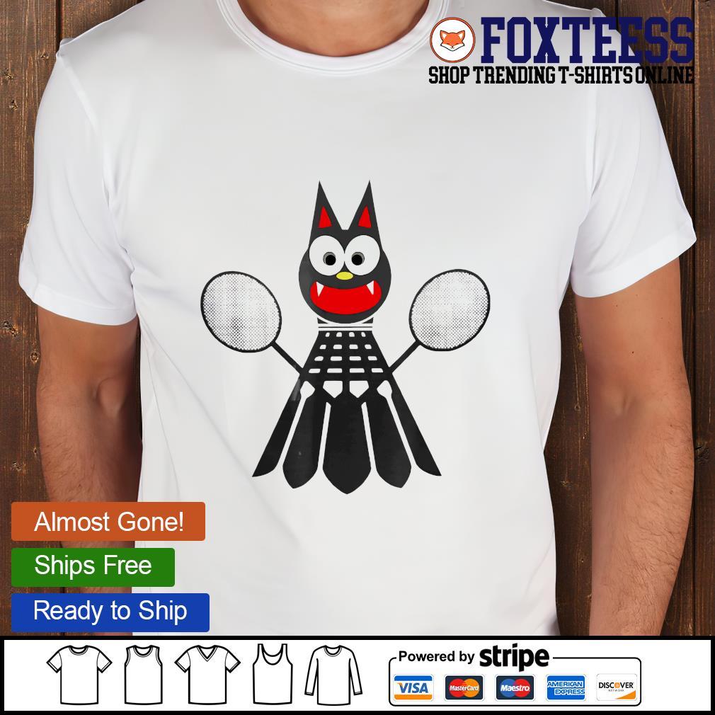 Bat Badminton shirt