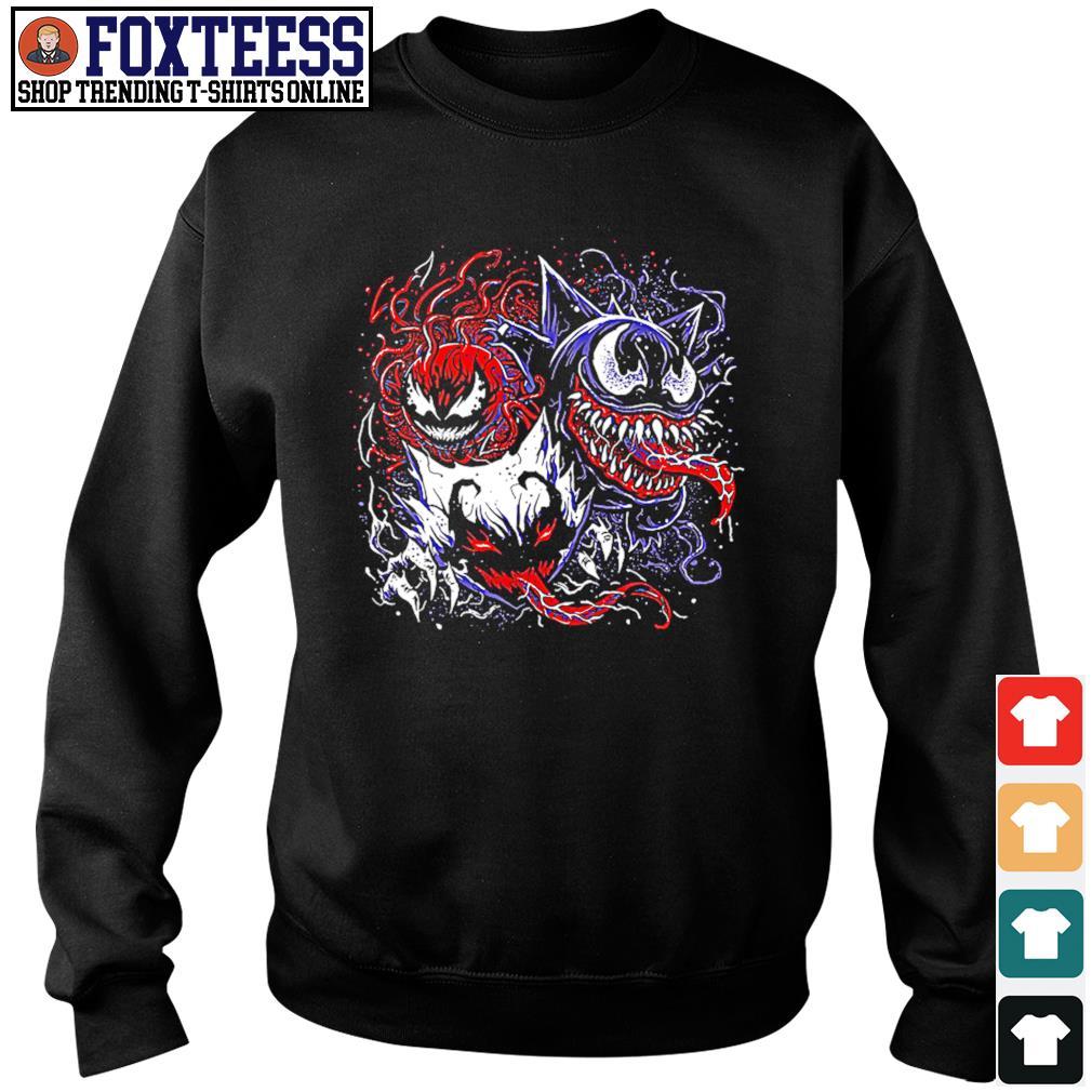 Gastly haunter gengar venom carnage anti venom s sweater