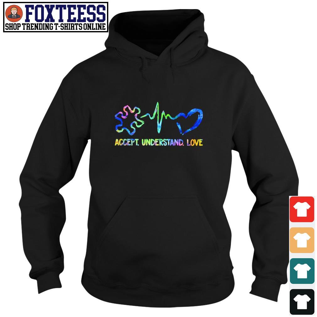 Accept understand love autism s hoodie