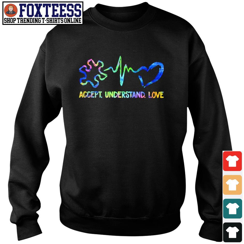 Accept understand love autism s sweater