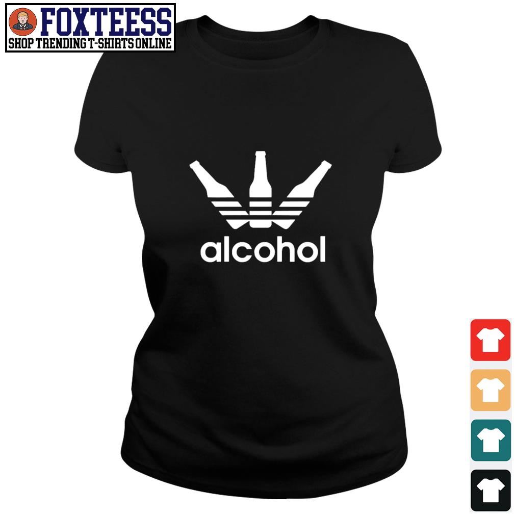 Adidas alcohol logo s ladies-tee
