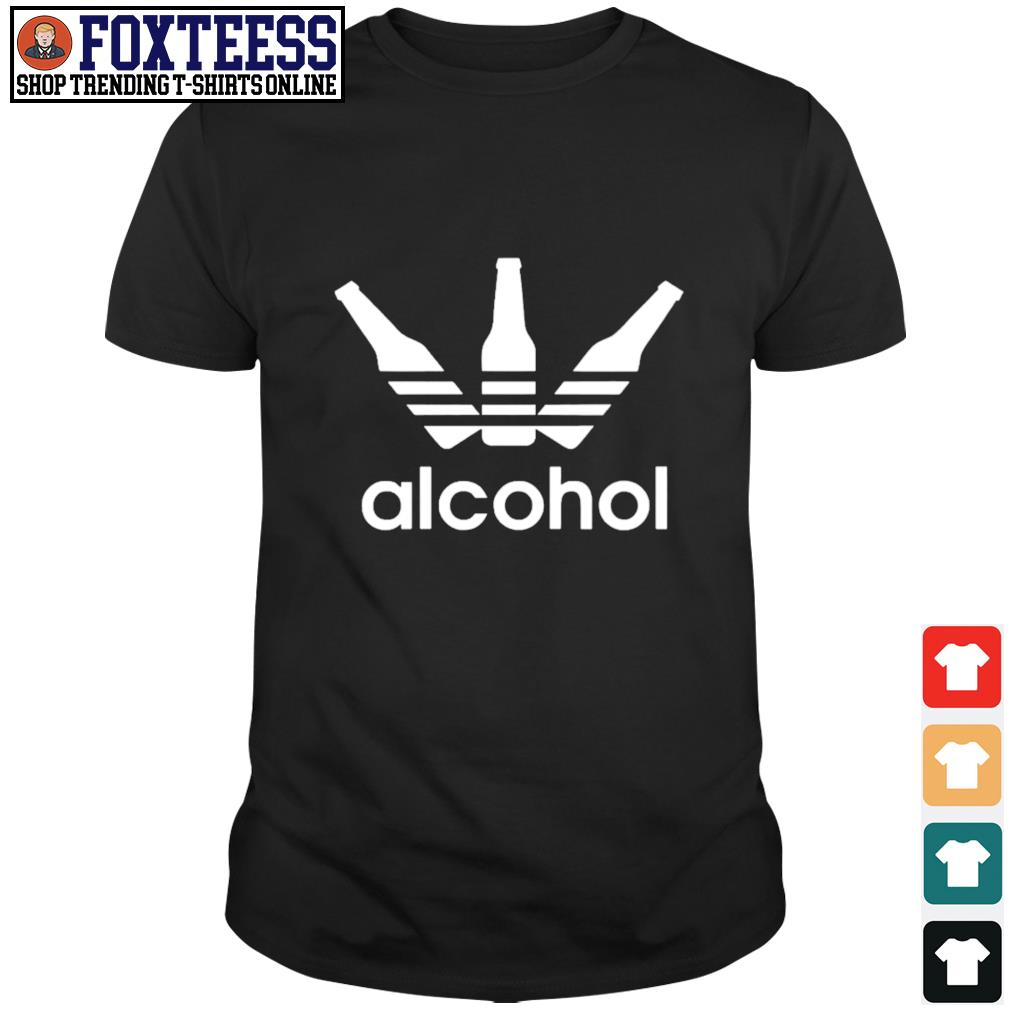 Adidas alcohol logo shirt