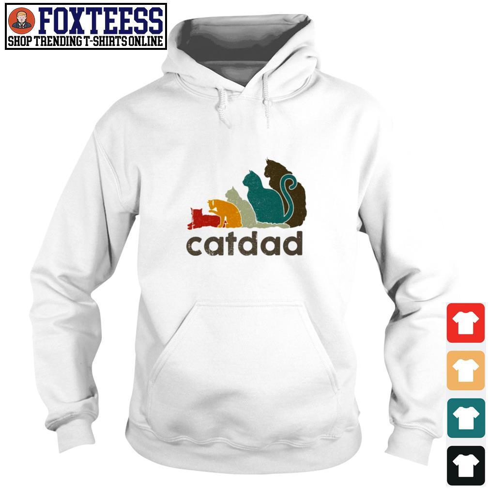 Adidas cat dad vintage s hoodie