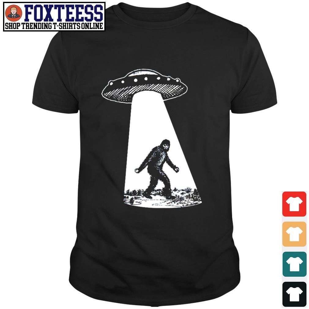 Alien UFO I found bigfoot shirt