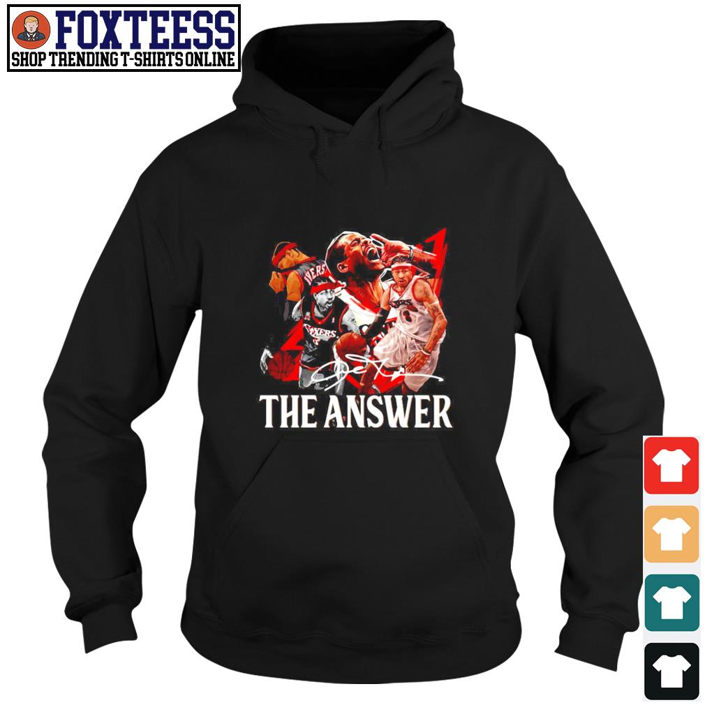 Angeles Lakers the answer signature s hoodie