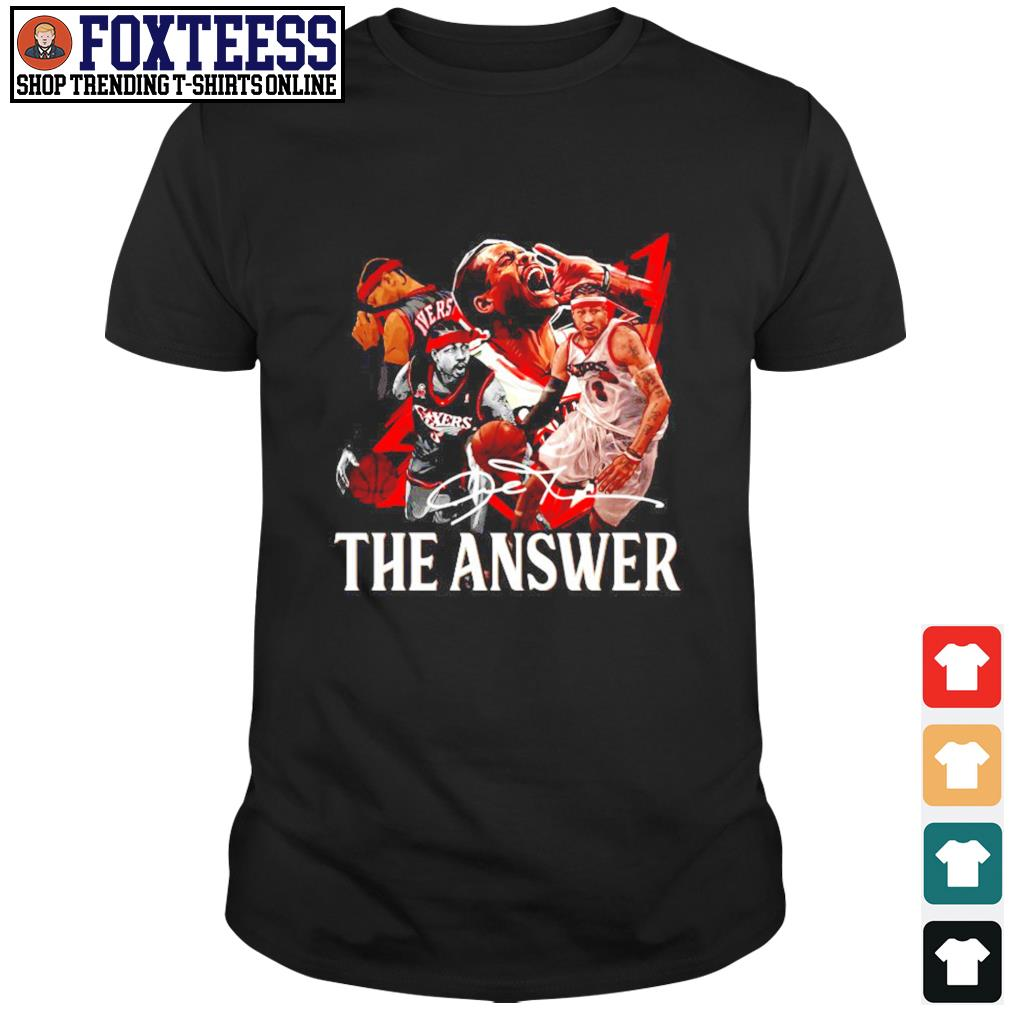 Angeles Lakers the answer signature shirt
