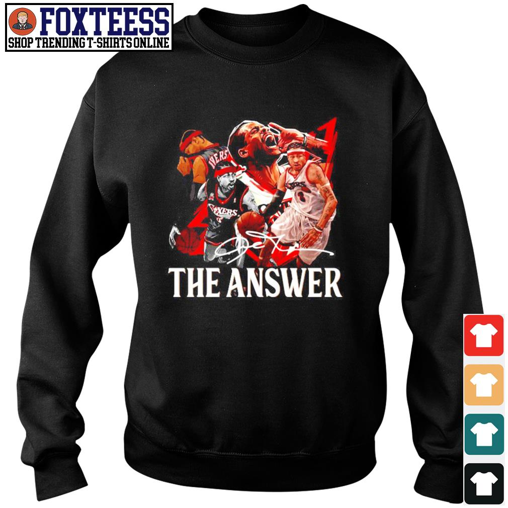 Angeles Lakers the answer signature s sweater
