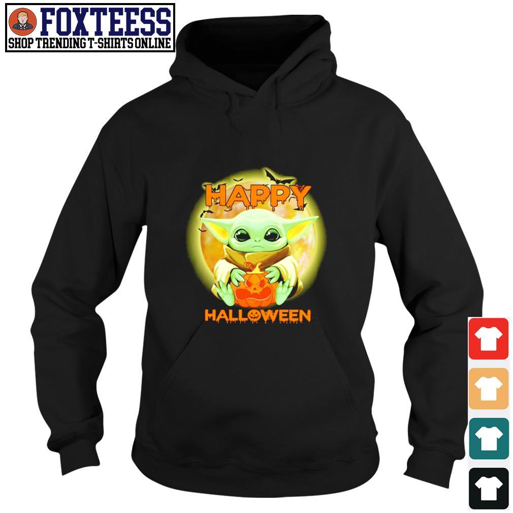 Baby yoda happy halloween s hoodie