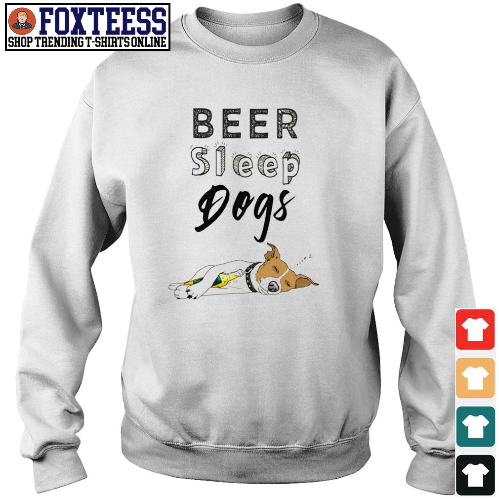 Beer sleep dogs s sweater