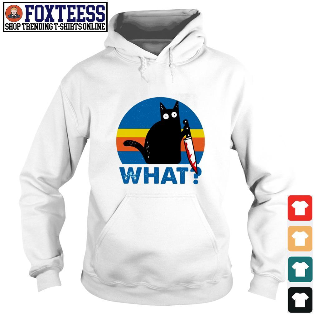Black cat murder what s hoodie