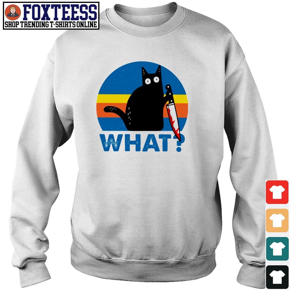 Black cat murder what s sweater