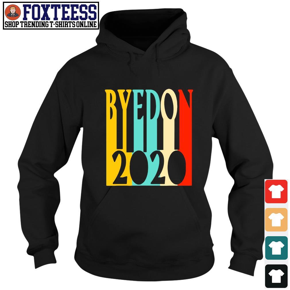 ByeDon 2020 funny retro vintage s hoodie