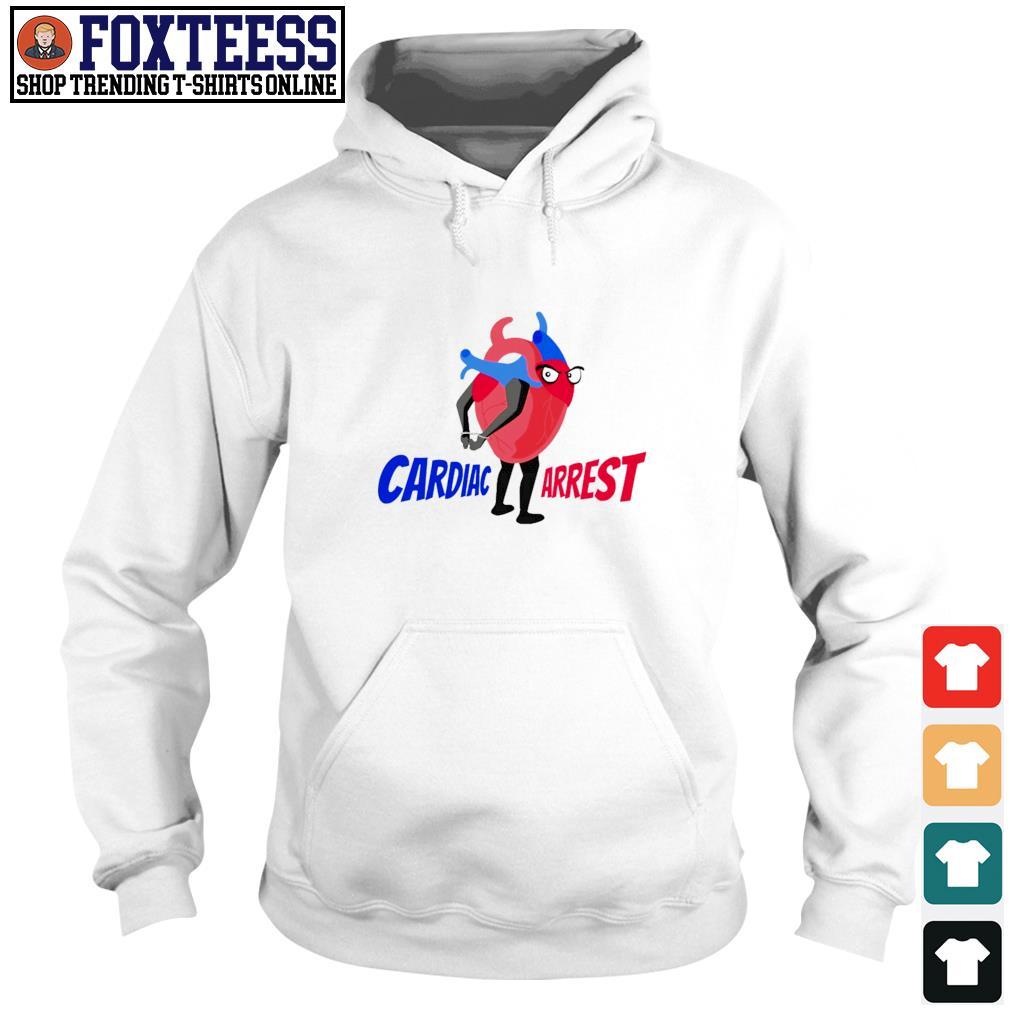 Cardiac arrest heart s hoodie