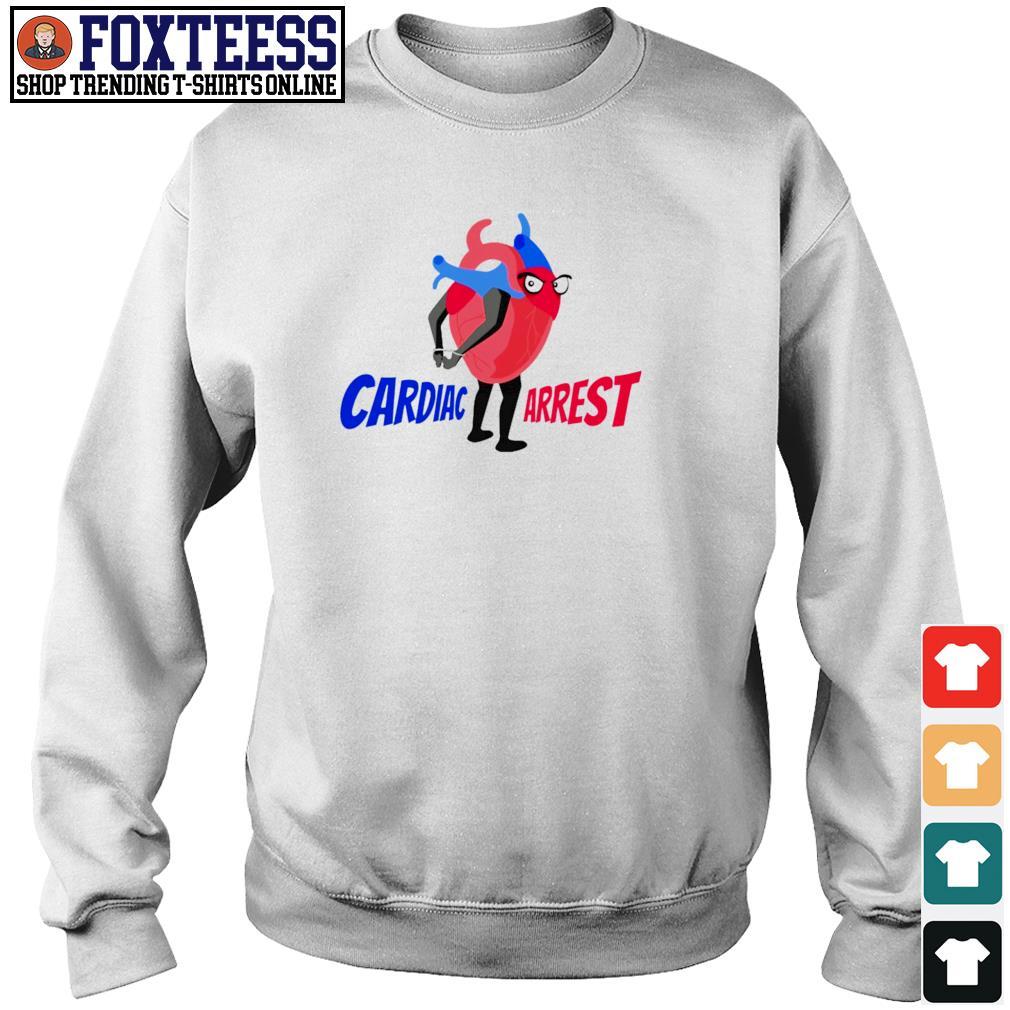 Cardiac arrest heart s sweater