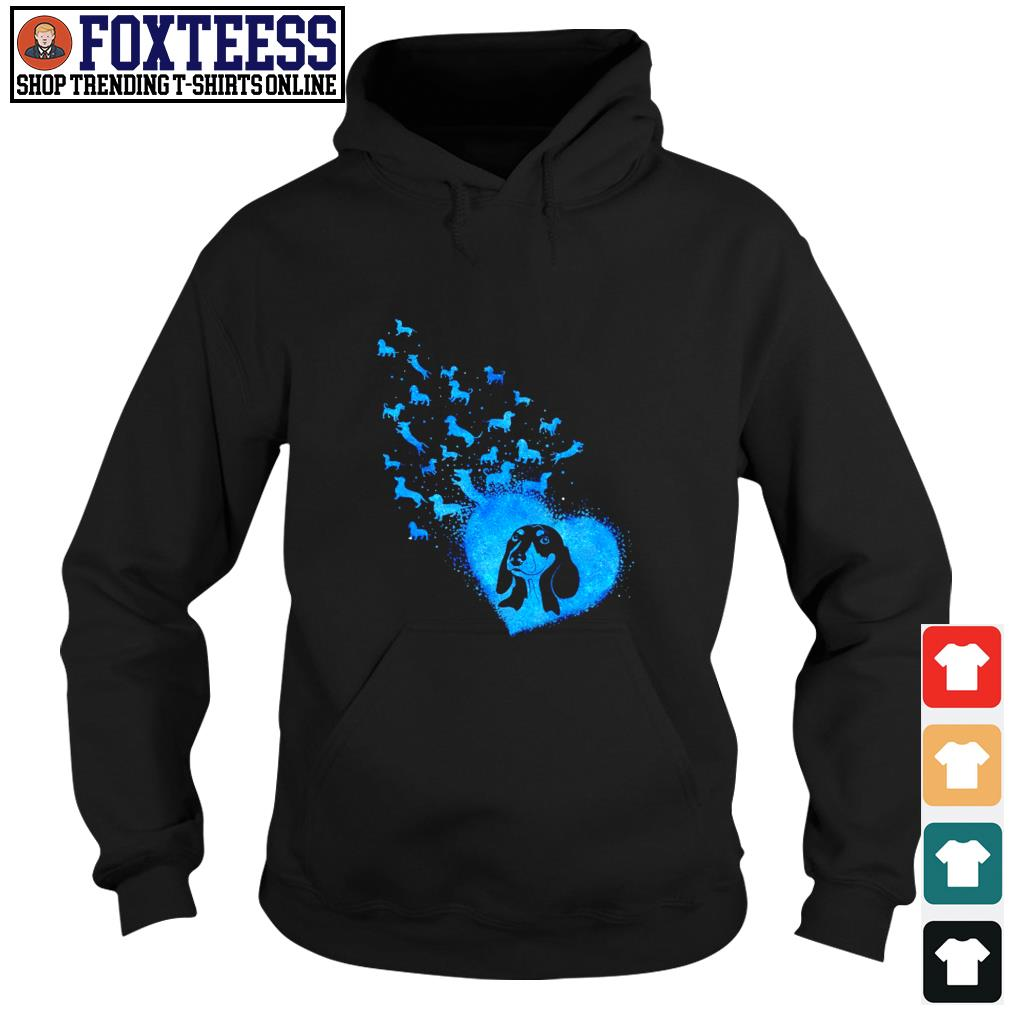 Dachshund blue angels dandelion s hoodie
