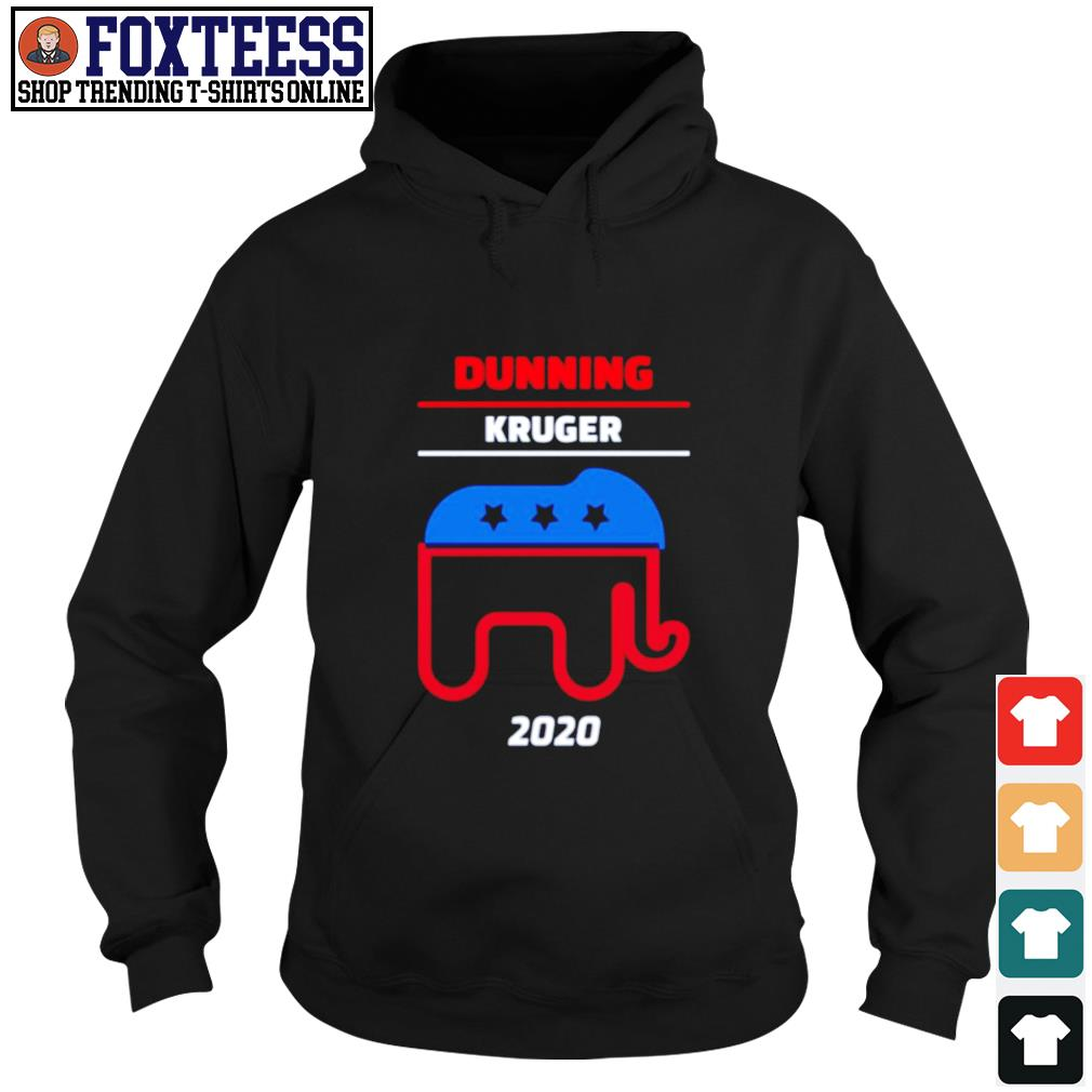 Elephant dunning kruger 2020 s hoodie