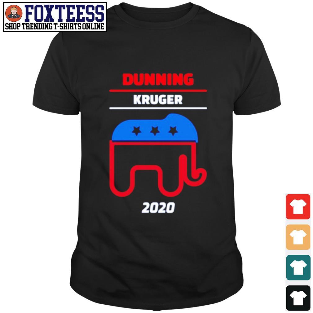Elephant dunning kruger 2020 shirt