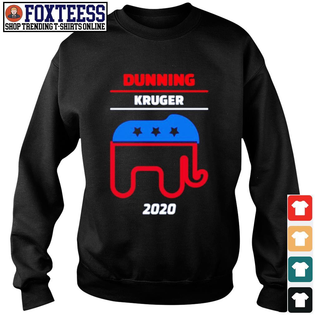 Elephant dunning kruger 2020 s sweater