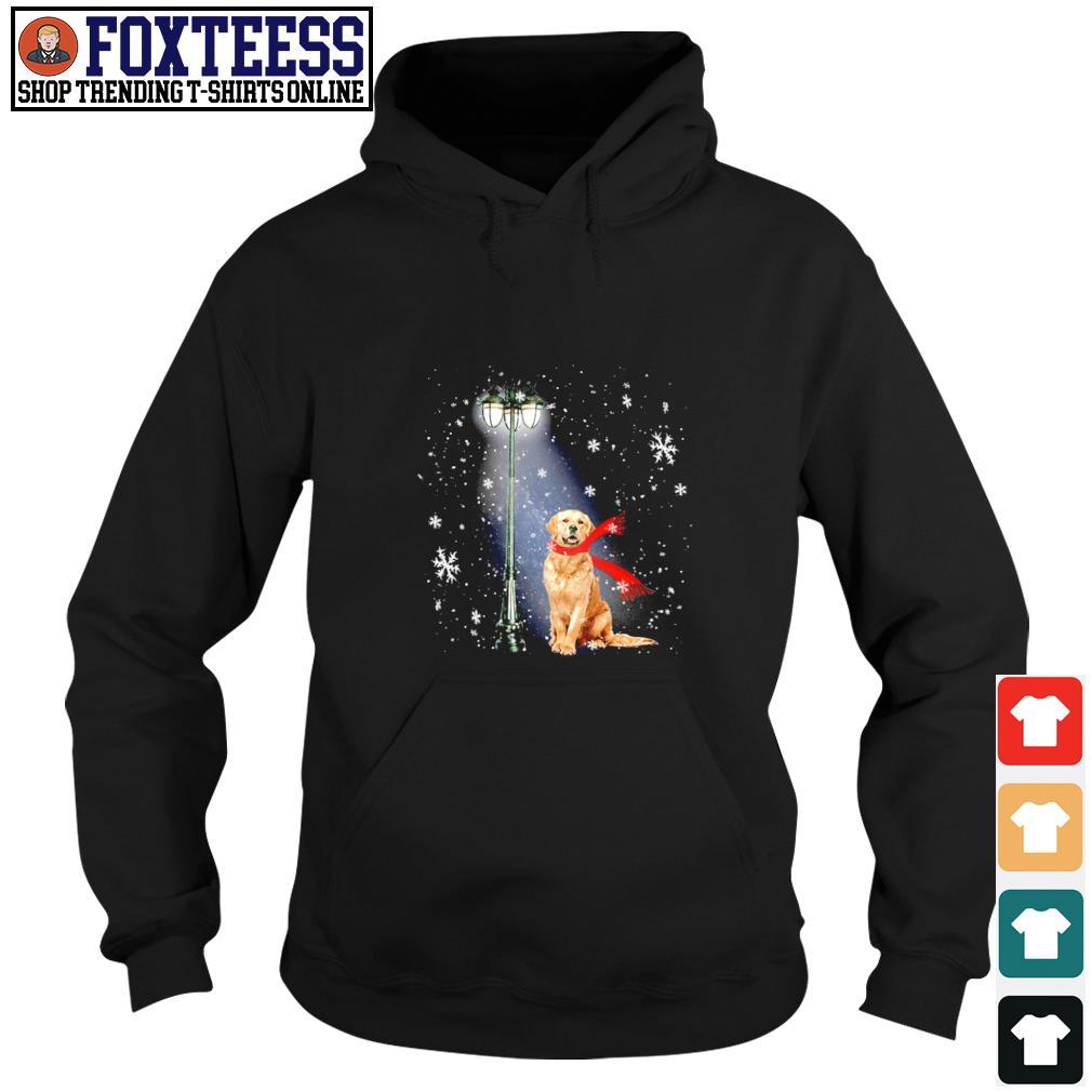 Golden Retriever for the santa claus christmas s hoodie