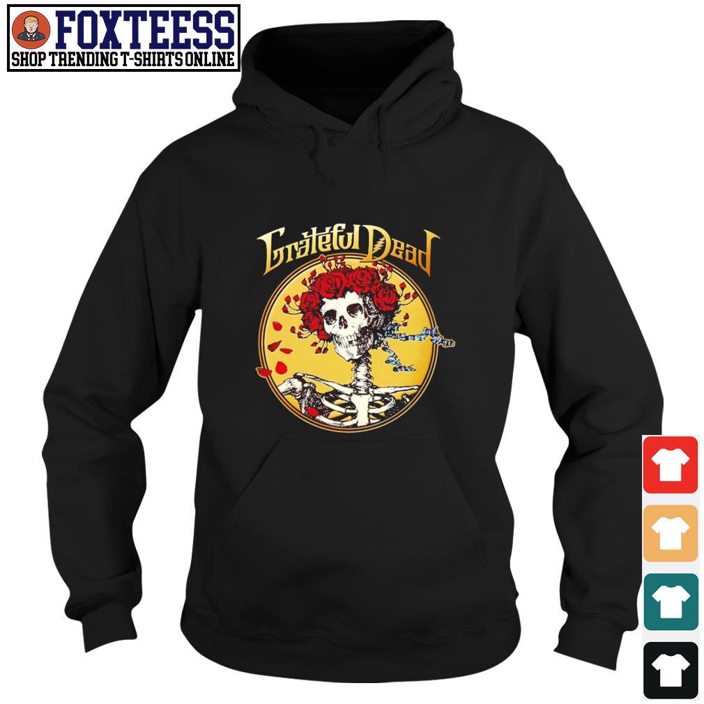 Grateful dead skull rose s hoodie