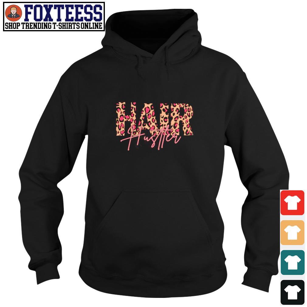 Hair hustler leopard s hoodie