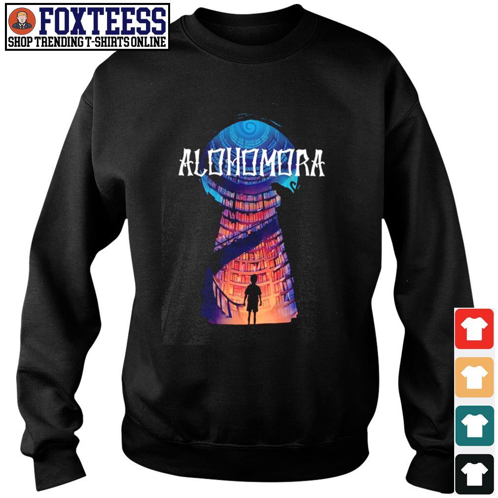 Harry potter alohomora historic library s sweater