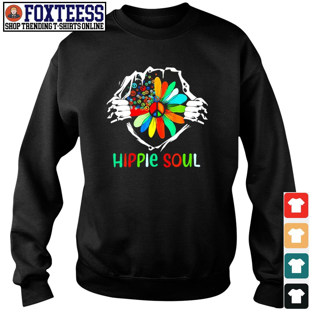 Hippie soul in my heart s sweater