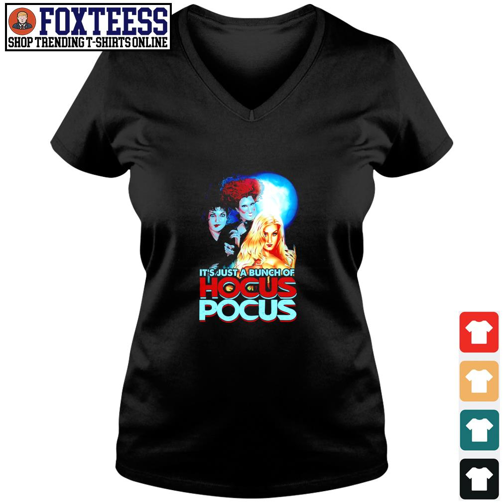 It's just a bunch of Hocus pocus s v-neck t-shirt