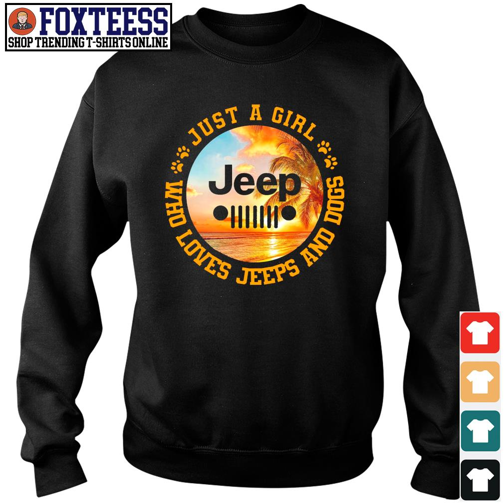Just a girl who loves jeeps and dogs s sweater
