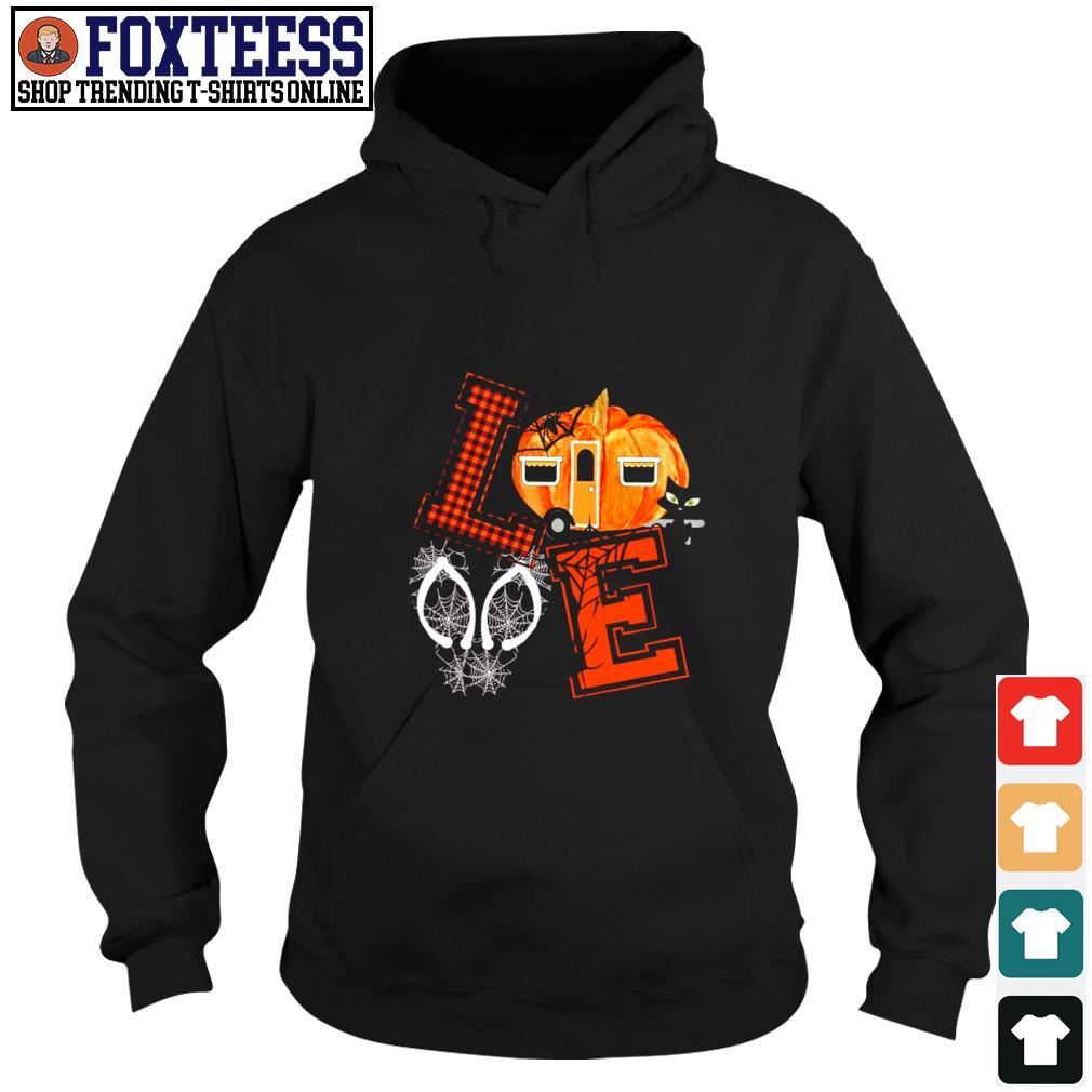 Love halloween pumpkin s hoodie