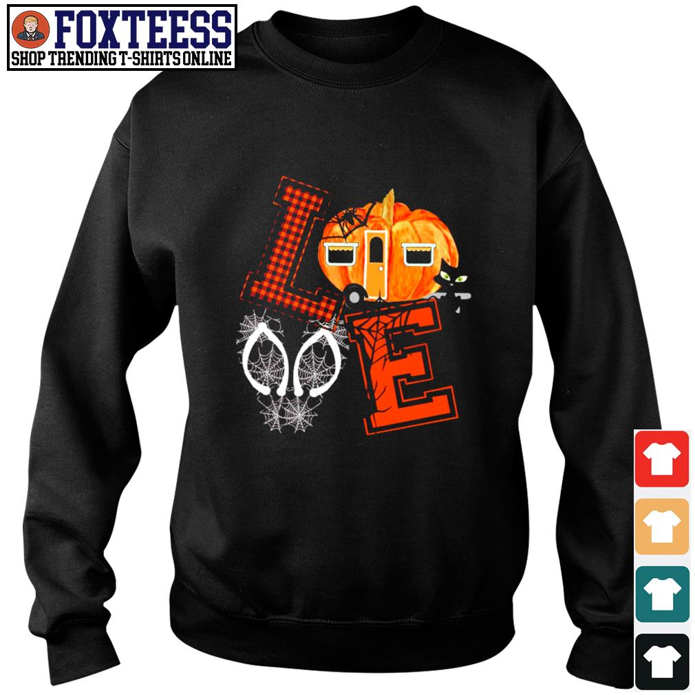 Love halloween pumpkin s sweater