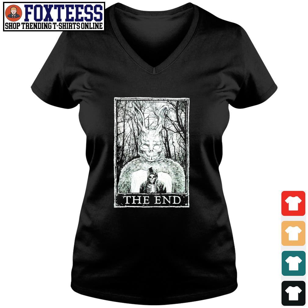 Lucifer death the end s v-neck t-shirt