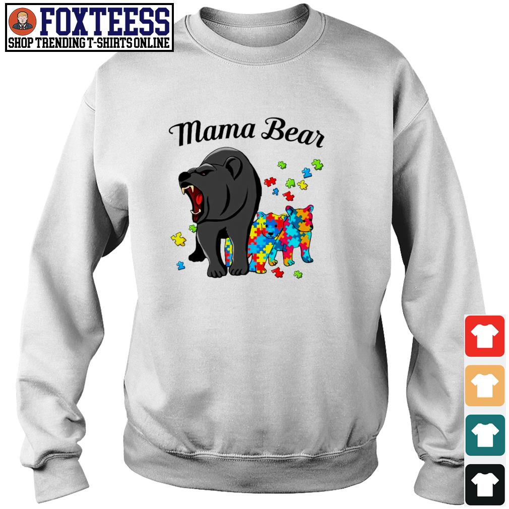 Mama bear protect child autism s sweater