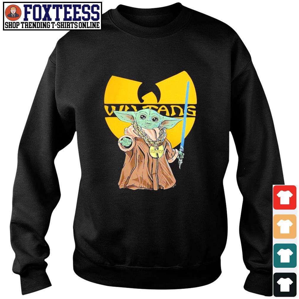 Master yoda wu-tang rapper s sweater
