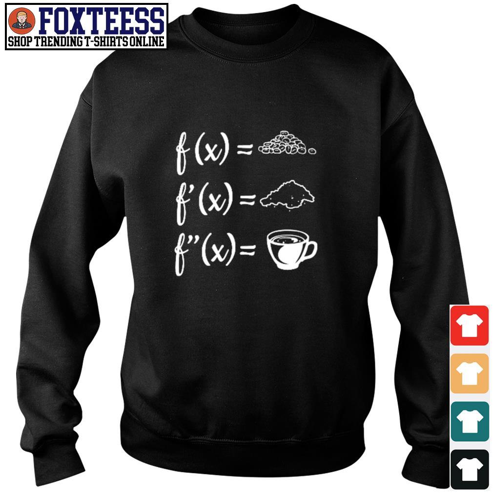 Math and coffee s sweater