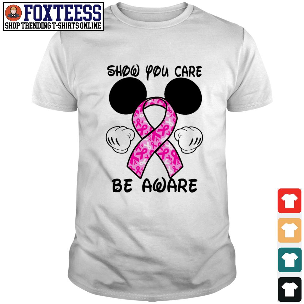 Mickey mouse show you care be aware breast cancer