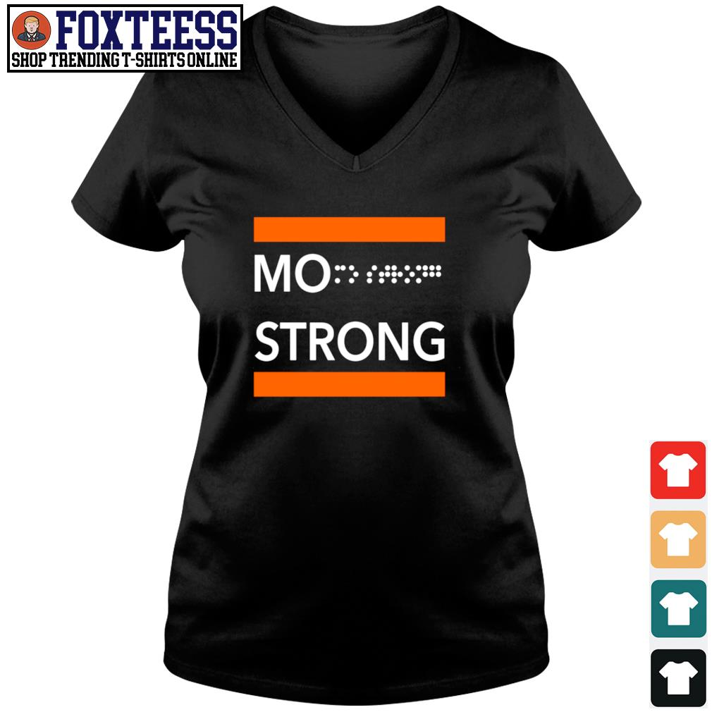 Mo strong s v-neck t-shirt