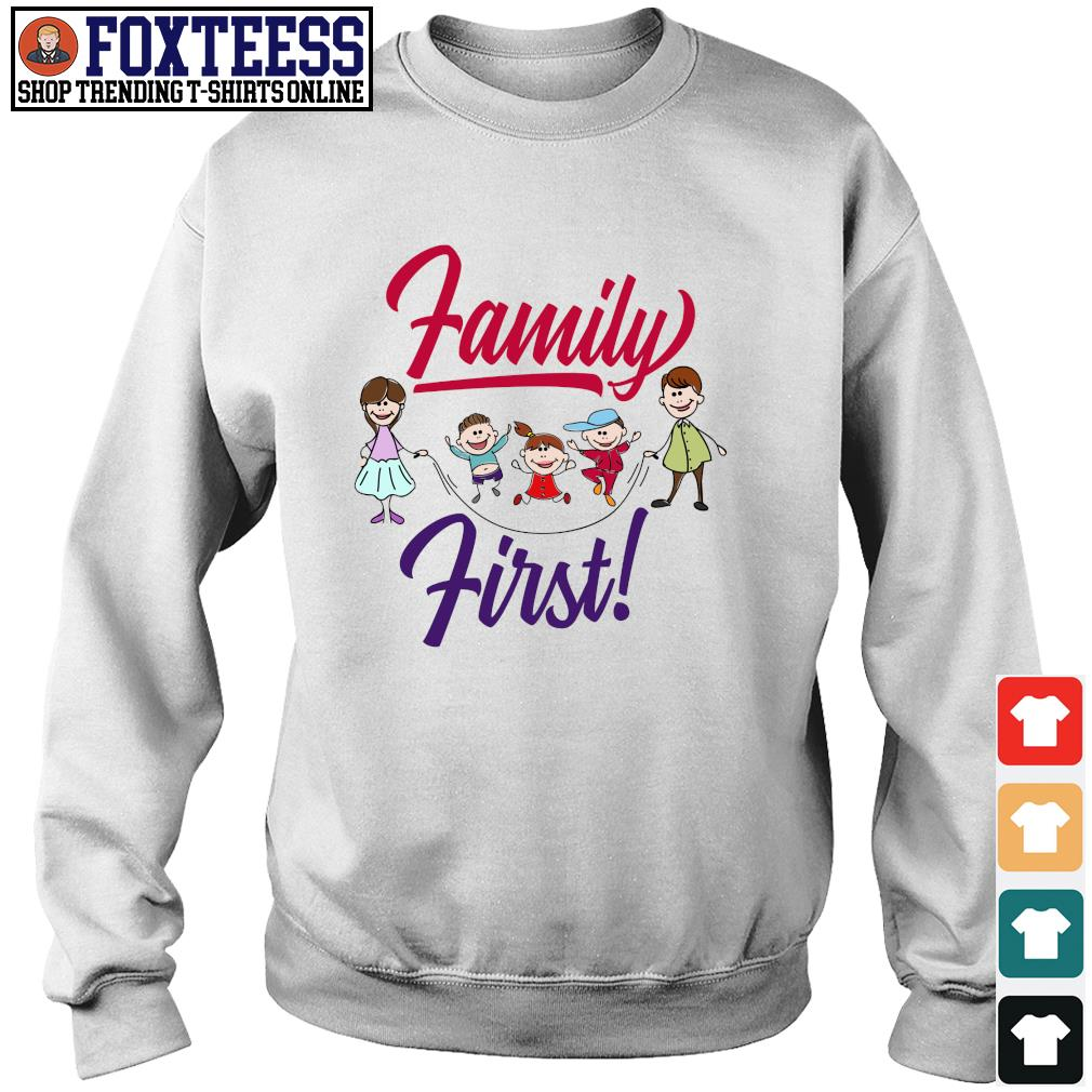 Mom and dad family first s sweater