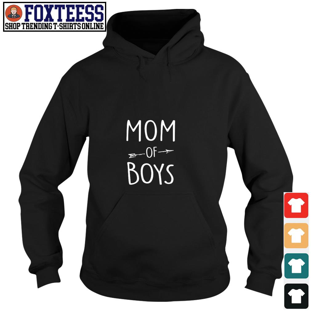 Mom of boys s hoodie