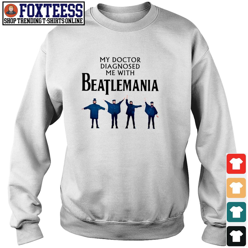 My doctor diagnosed be with beatlemania s sweater