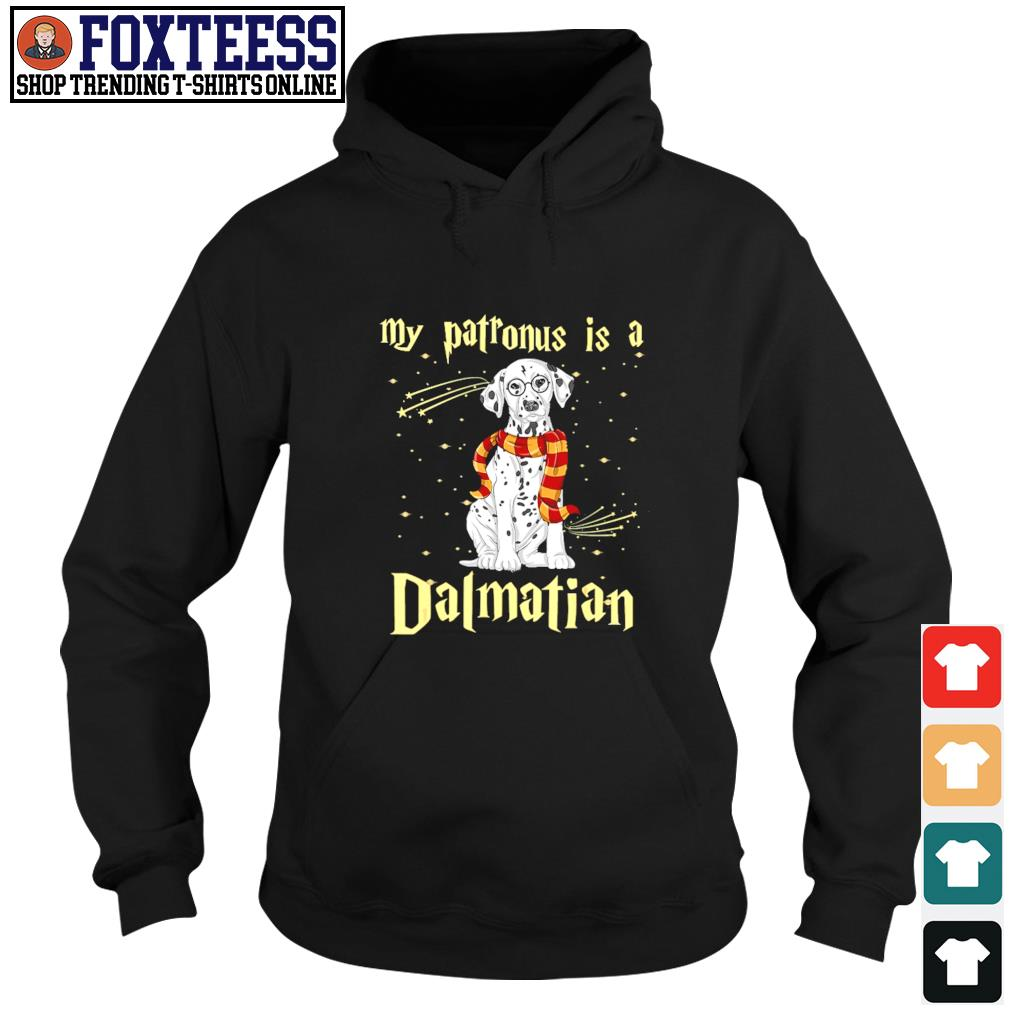 My patronus is a dalmatian christmas s hoodie
