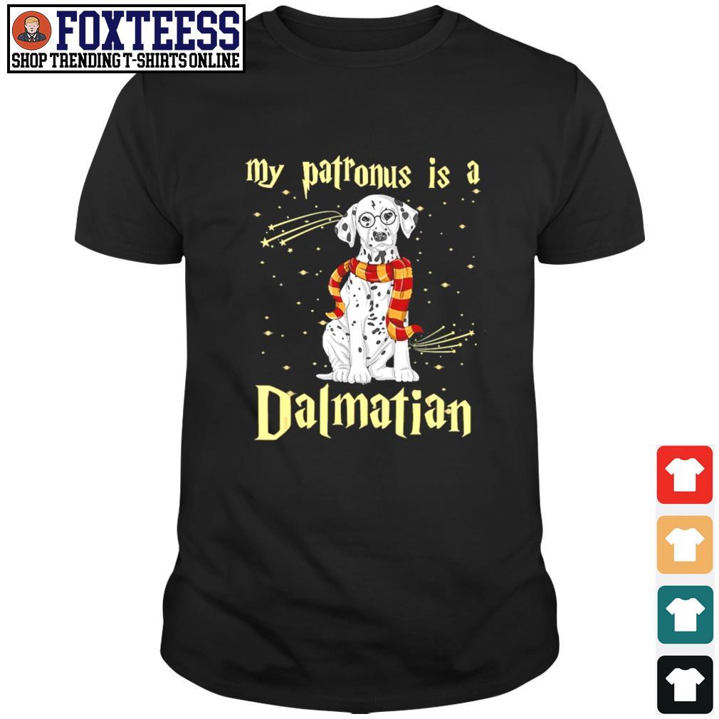My patronus is a dalmatian christmas shirt