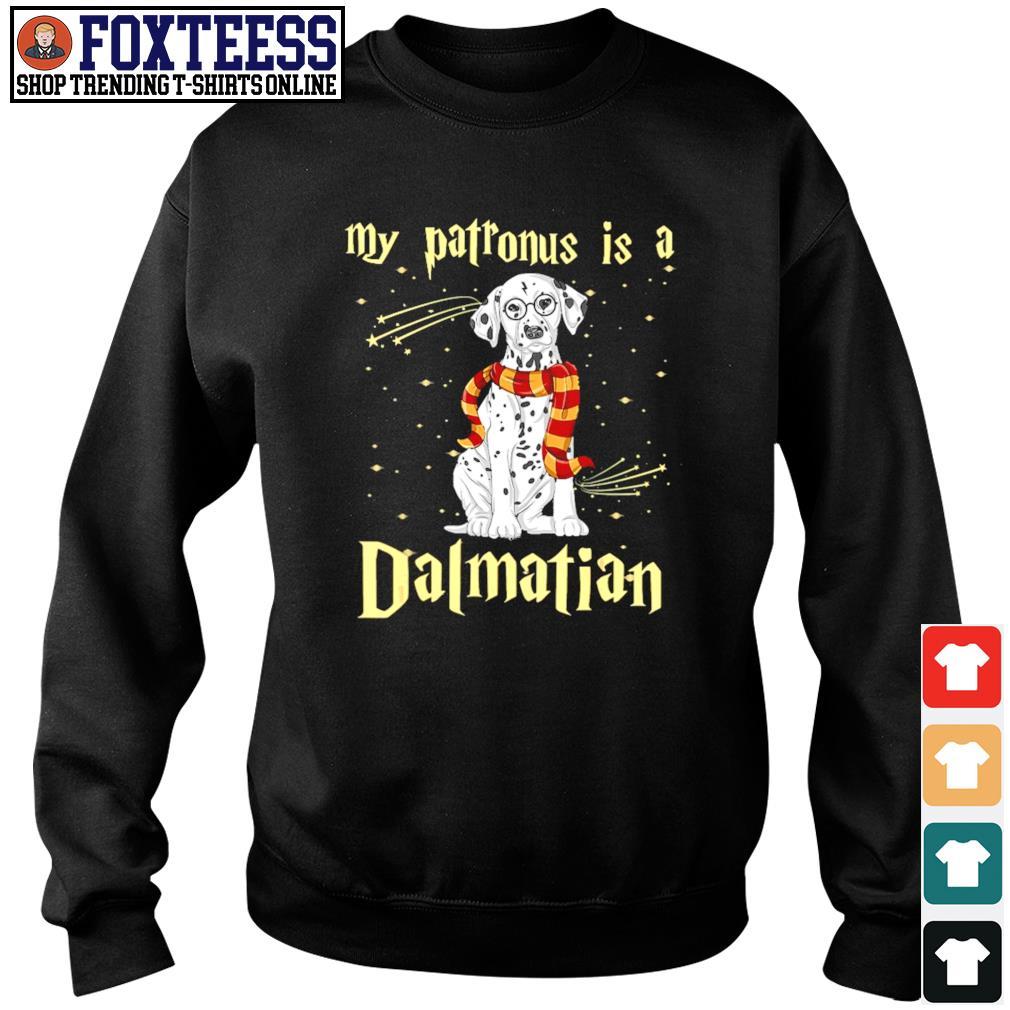 My patronus is a dalmatian christmas s sweater