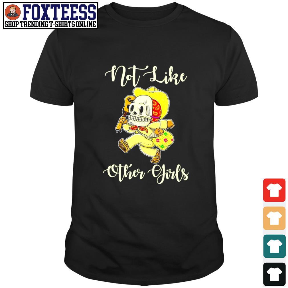 Not life other girl sugar skull leopard shirt
