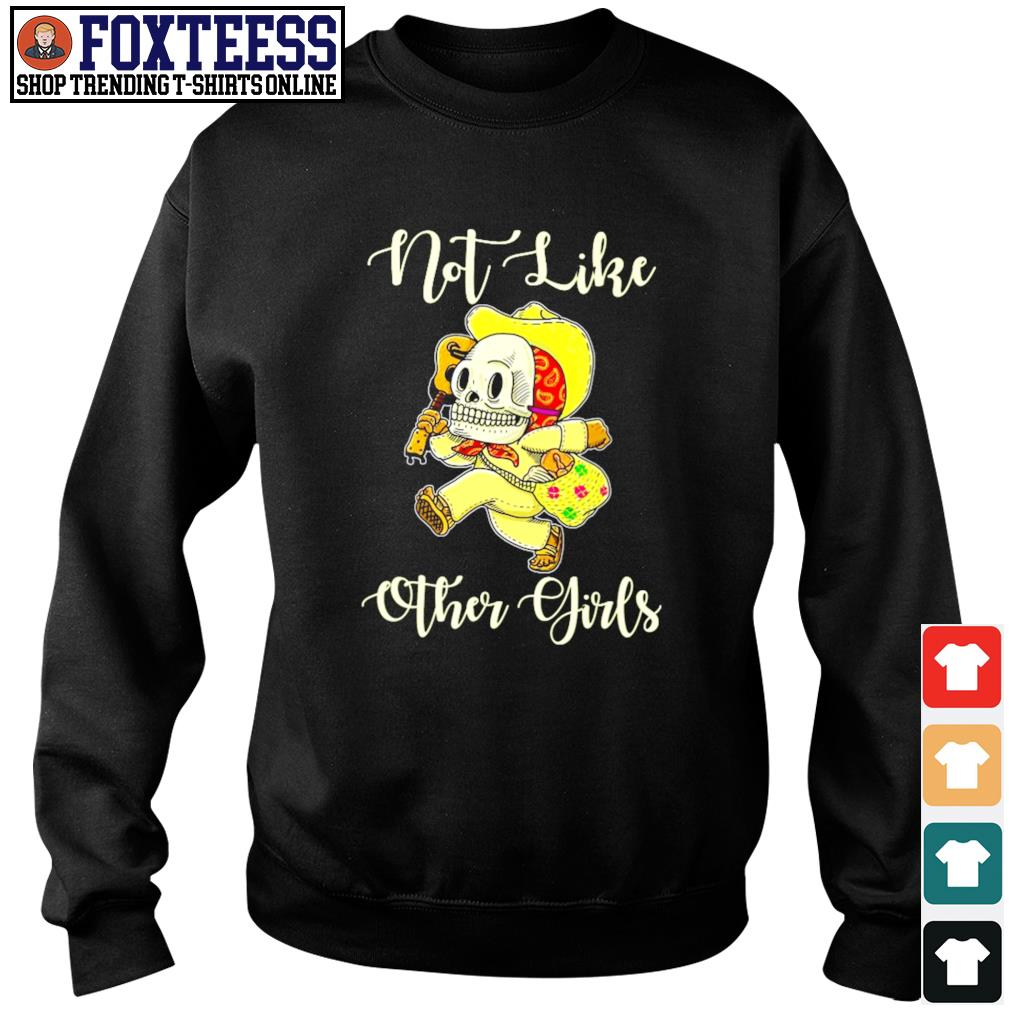 Not life other girl sugar skull leopard s sweater
