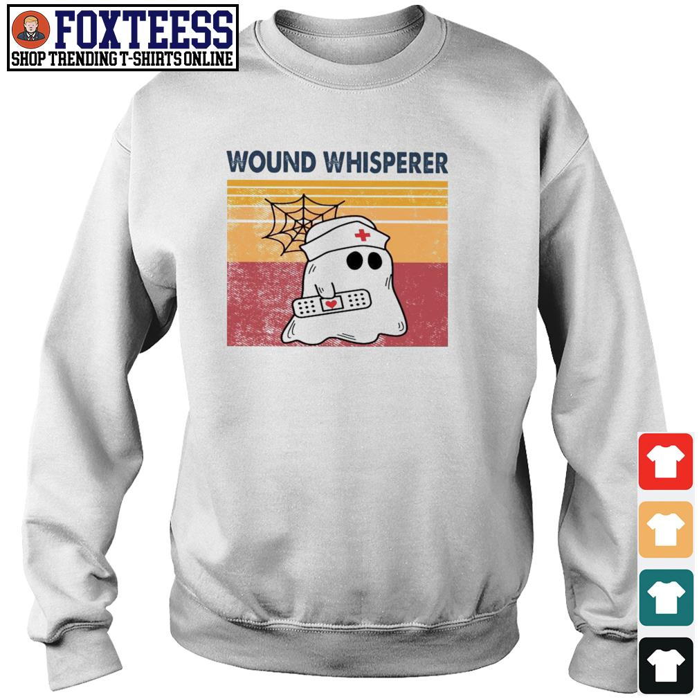 Nurse ghost wound whisperer vintage s sweater