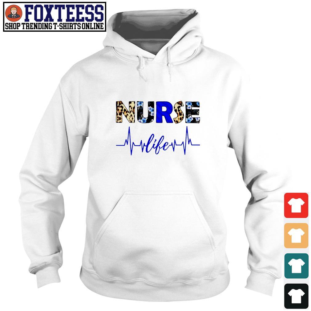 Nurse life heartbeat s hoodie